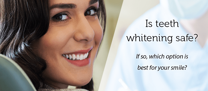 Woman with a bright white smile